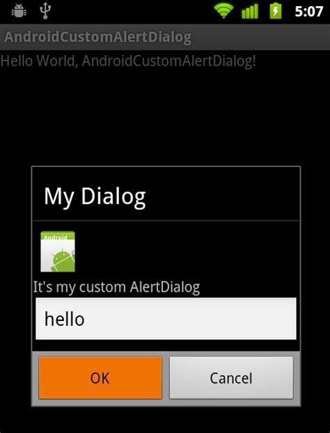 how to add edittext and icon in dialog listview android android er custom alertdialog