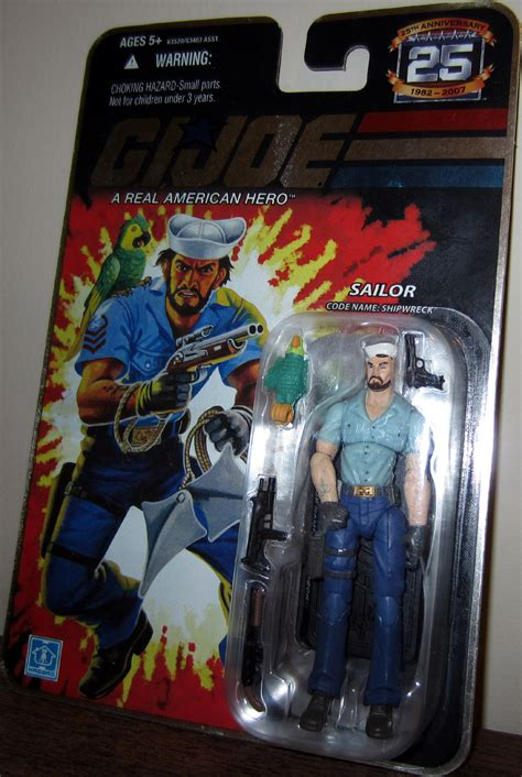 gi joe tattoos gi joe sailor code name shipwreck anchor figure