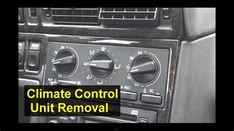 volvo ecc electronic climate control unit removal