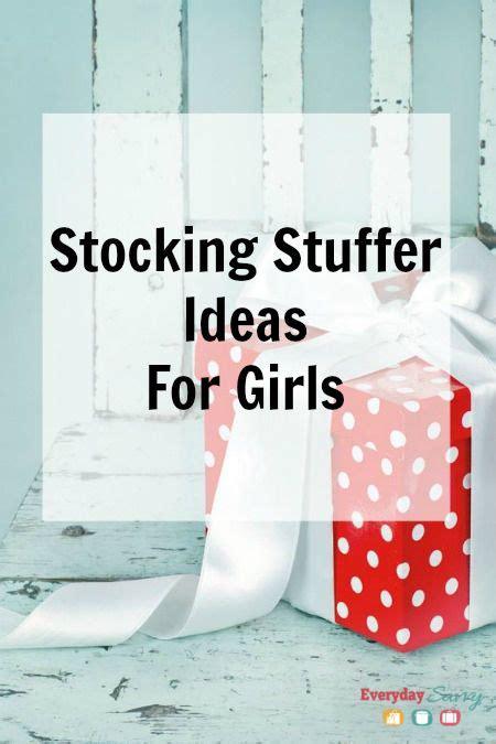 stuffer ideas stocking stuffer ideas for kids girls christmas stockings girls and for kids