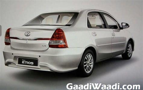 Toyota Etios In India Toyota Etios Platinum Etios Facelift Launched In India