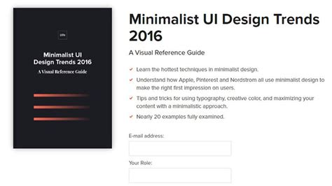 minimalist design principles free ebooks to nurture your inner web designer and developer