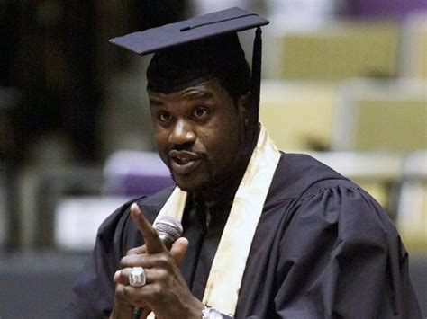 Shaq Mba 10 black athletes who went back to college to earn their