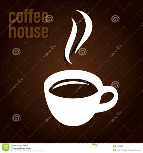 coffee house design coffee house design stock vector image 39121377