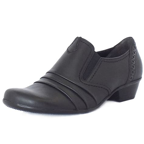 comfortable black sneakers gabor emerge comfortable everyday shoes in black mozimo