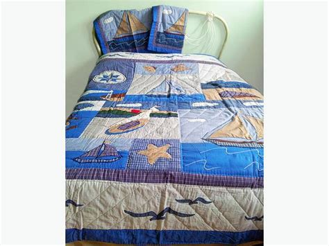 Size Quilt And Shams Nautical Quilt Or Comforter With Shams King Sized