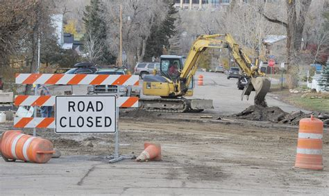 Wrapping Up On A Friday Afternoon by Several Construction Projects Wrapping Up In Steamboat