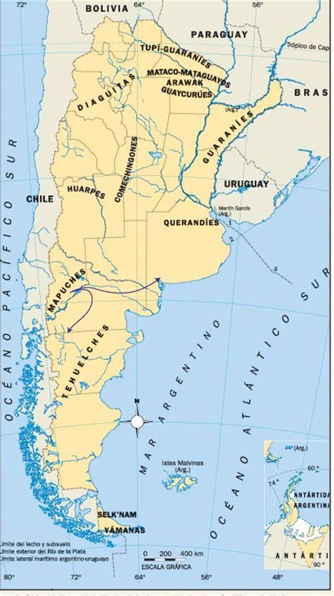 mapa america pueblos originarios argentina mochi tour pueblos originarios de argentina