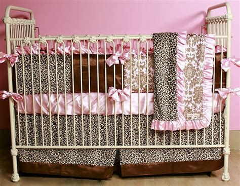 Cheetah Print Crib Bedding Set by 21 Best Images About Cheetah Print Baby Bedding On