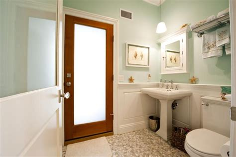 Frosted Glass Bathroom Entry Door by Frosted Glass Door Traditional Bathroom New York