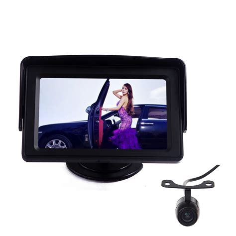 Monitor Lcd Hd eincar eincar car lcd monitor 4 3 inch hd tft led touch screen monitors with lcd