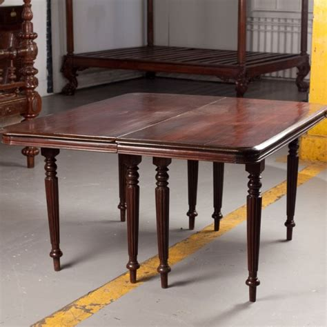 Dining Room Table Parts Anglo Indian Rosewood Caign Dining Table In Two Parts At 1stdibs