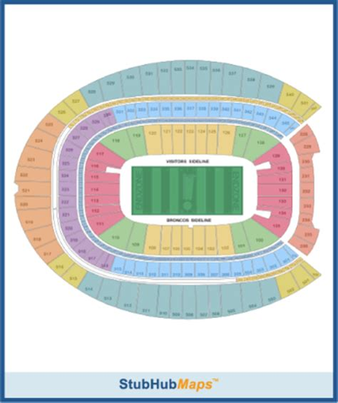 denver broncos stadium seating chart 3d denver broncos stadium map bnhspine
