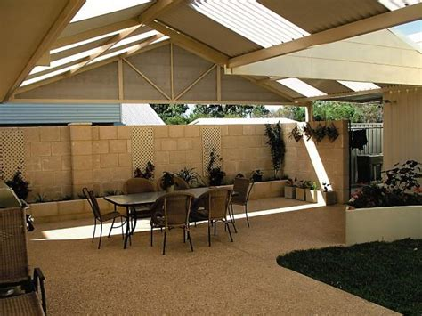 Aussie Patio Designs Patios Inspiration Outdoor World Albany Australia Hipages Au