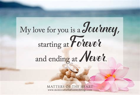 Wedding Anniversary Journey Quotes by Matters Of The Quote Room Wedding Quotes