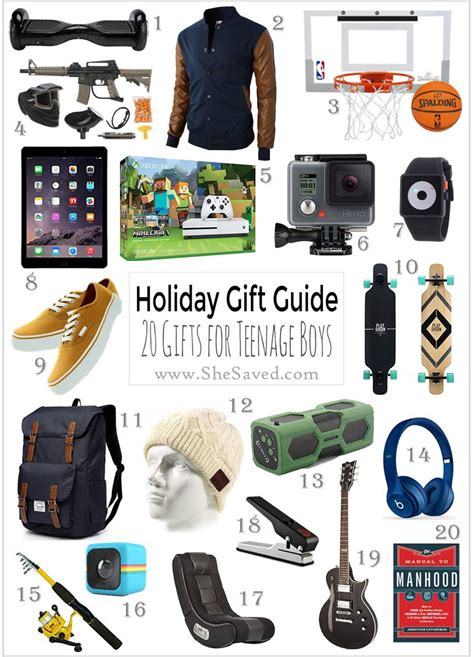 holiday gift guide gifts for teen boys shesaved 174