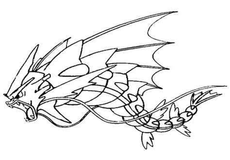 pokemon coloring pages gyarados pokemon mega evolutions coloring pages gyarados grig3 org