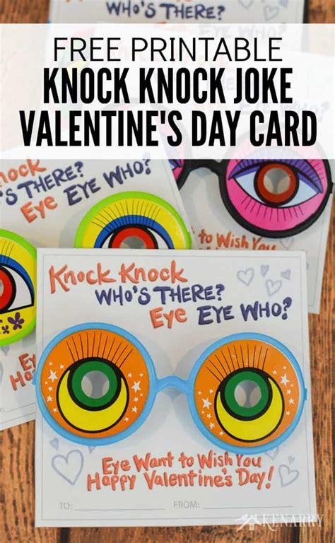 printable children s knock knock jokes knock knock valentines free printable cards for kids