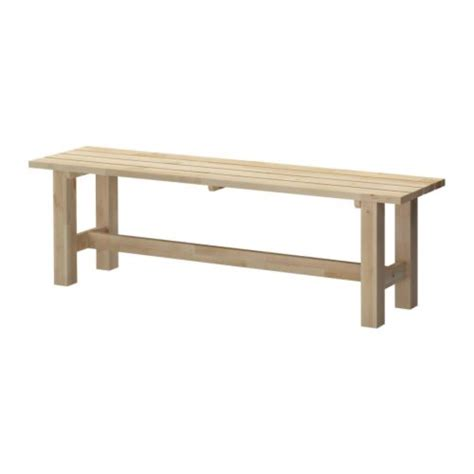 ikea wood norden bench ikea