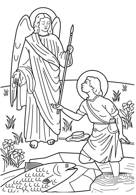 archangel coloring page st michael coloring page coloring home