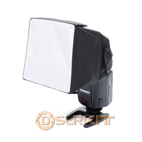 Softbox Kamera godox 10x10cm sb1010 light diffuser softbox kit for speedlite flash in flash diffuser