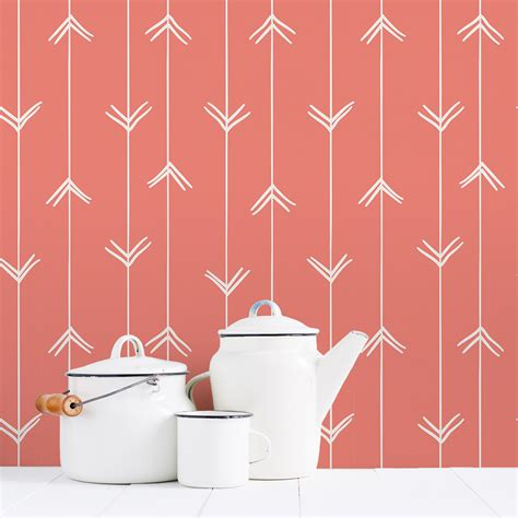 removable wall hand drawn arrows removable wallpaper
