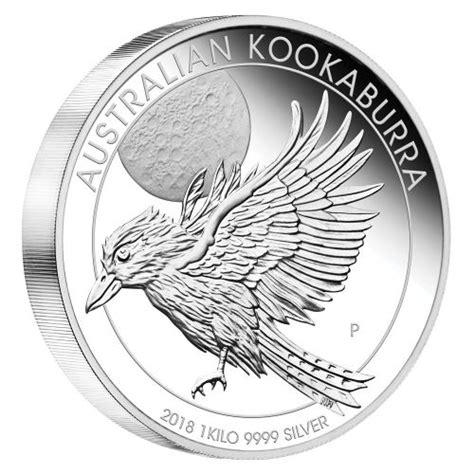 kookaburra silver coin 1kg australian kookaburra 2018 1kg silver proof coin the