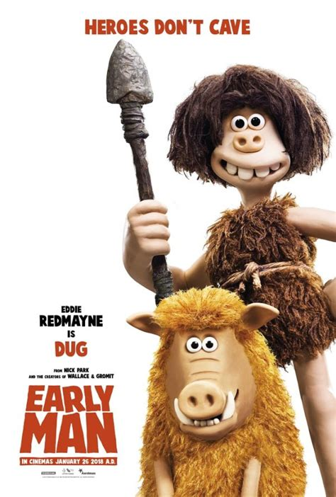 Early Characters new character posters for aardman s early
