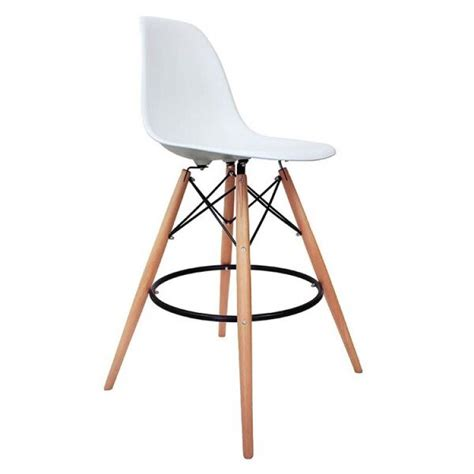 charles eames bar stool charles ray eames inspired dsb bar stool white