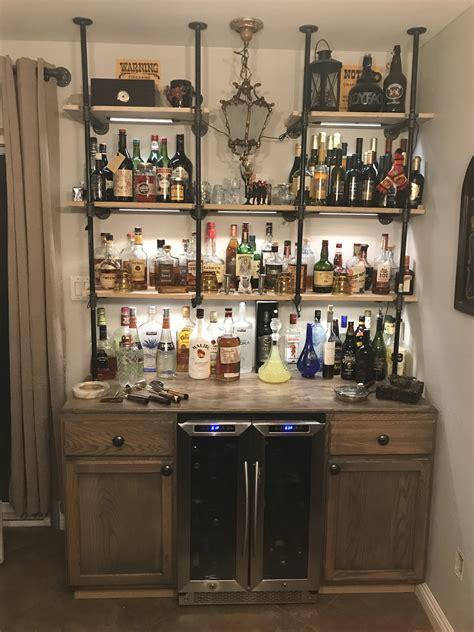 pin  diy industrial bar  west saloon