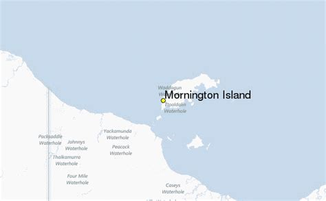 mornington island weather station record historical