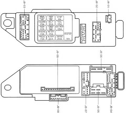 mazda 323 fuse box diagram 26 wiring diagram images