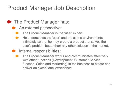 Product Manager Mba by Product Manager Description Product Manager Institute