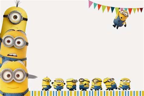 birthday card template minions c 243 mo celebrar una de cumplea 241 os de los minions en casa