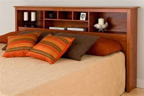 King Size Bed Frame With Bookcase Headboard Sonoma King Size Bed Bookcase Headboard Cherry New