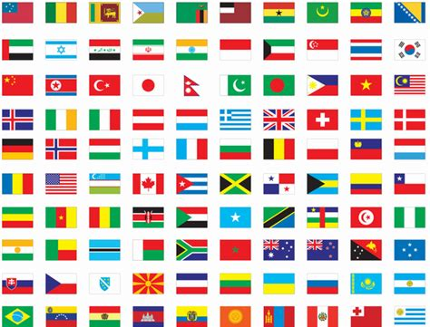 flags of the world large images free vector flags of the world free images at clker com