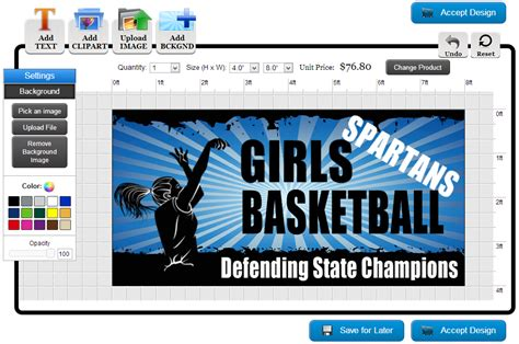 online templates for banners banners com how to make custom basketball banners