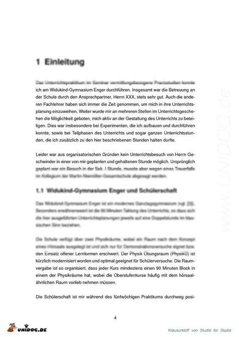 Praktikum Vorbericht Vorlage Unidog Praktikumsbericht Physikdidaktik