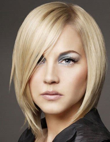 适合申字脸的短发型 申字型脸的发型图片