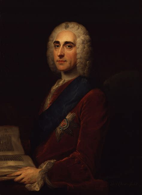 Philip Dormer Stanhope file philip dormer stanhope 4th earl of chesterfield by william hoare jpg wikimedia commons