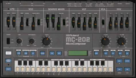 Music Machines: Roland MC-202 .txt
