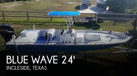 used blue wave boats for sale in texas for sale used 2001 blue wave 244 magnum in ingleside