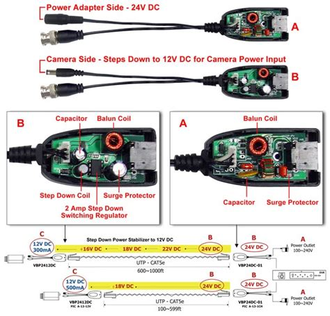 cctv balun cat5 wiring diagram rj11 wiring diagram wiring