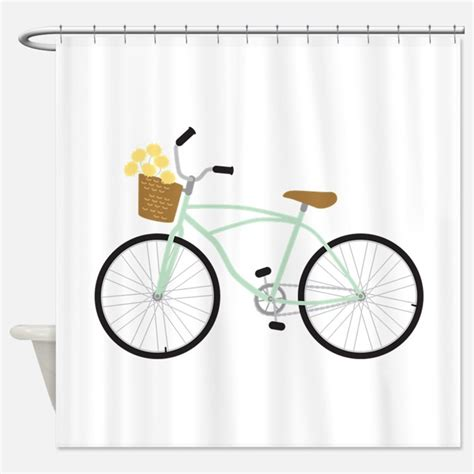 Bicycle Shower Curtain by Bicycle Shower Curtains Bicycle Fabric Shower Curtain Liner