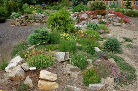 What Is Rock Garden Berm Rock Garden Farm