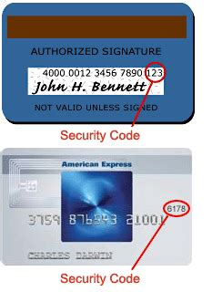 What Is The Security Code On American Express Gift Card - security code explanation