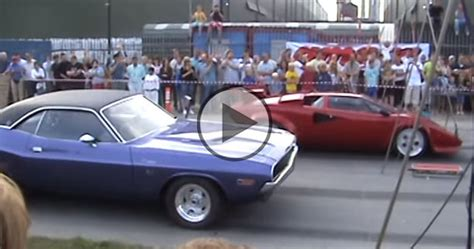 race between and lamborghini lamborghini countach drag race always wanted a countach