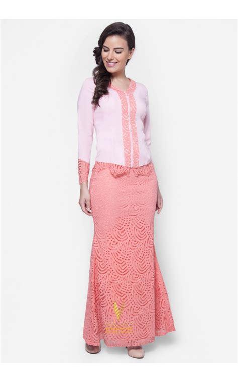 Baju Kebaya New baju kurung kebaya baju kebaya lace vercato in pink