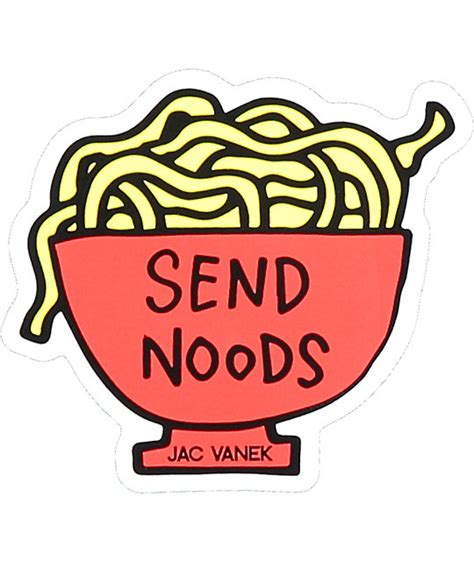 Send Sticker jv by jac vanek send noods sticker