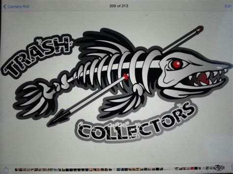 bowfishing tattoos bowfishing team logo gartoon bowfishing